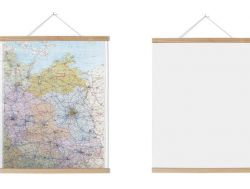 Poster Hanger | Ash Wood