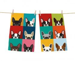Vaatdoek Frenchie Set van 2