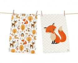 Dish Towels Forest Friends Set of 2