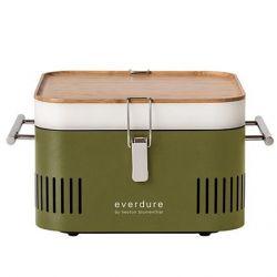 Cube Houtskool Barbecue | Kaki