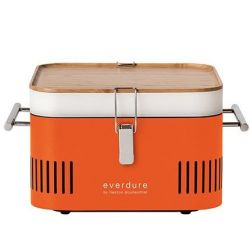 Cube Barbecue Carbon de Bois | Orange