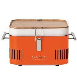 Cube Charcoal BBQ | Orange