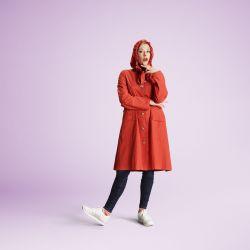 Raincoat | The Classic Orange