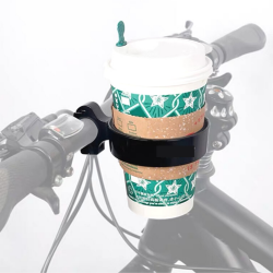 Handlebar Coffee Drink Holder | Black