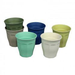 Tassen Tasse voller Farbe L 6er-Set | Breeze