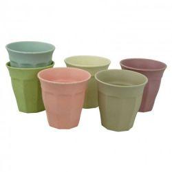 Tassen Tasse voller Farbe L 6er-Set | Morgendämmerung