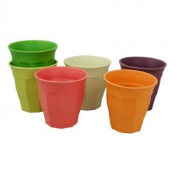 Tassen Tasse voller Farbe L 6er-Set | Regenbogen