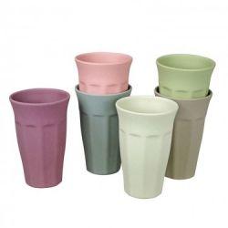 Gobelets Cupful of Colour Xl Set de 6 | Aube