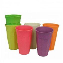Gobelets Cupful of Colour Xl Set de 6 | Arc-en-ciel