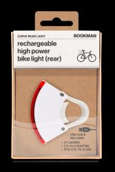 Fahrradlicht  Wiederaufladbar Hinten Curve | Weiß