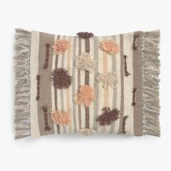 Cushion Cover Colors Brown 60 x 60 cm | Brown