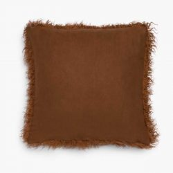 Cushion Cover Mongolian | Brown