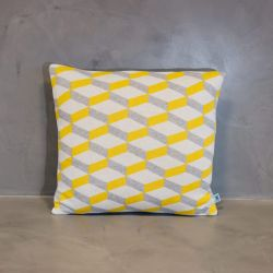 Cushion Cover Azulejo Aveiro | Yellow