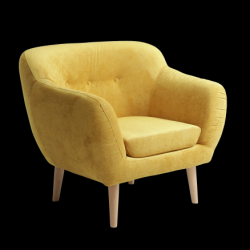 Fauteuil Marget | Jaune