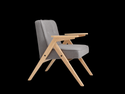 Armchair Vinc | Steel Grey