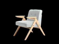 Armchair Vinc | Light Blue