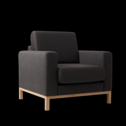 Armchair Scandic | Carbon