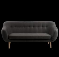 3-Sitzer-Sofa Marget | Carbon Grau
