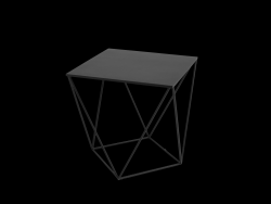 Table d'Appoint Daryl 60 | Noir