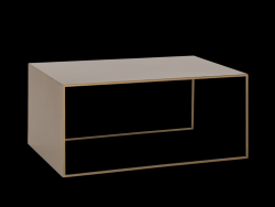 Table d'Appoint 2WALL 100 x 60 cm | Or
