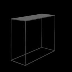 Konsole Tensio Metall 100 x 35 cm | Schwarz