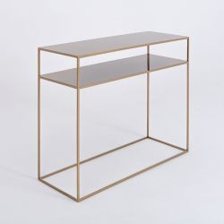Console Tensio 2 Floor Metal | Gold