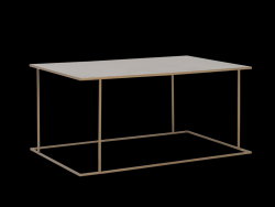 Coffee Table Walt 100 x 60 cm | Gold