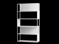Bookcase Hyller Side 100 x 180 cm | White