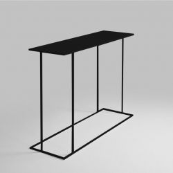 Table d'Appoint Walt 100 x 30 x 75 cm | Noir