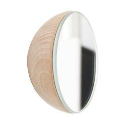Wall Hook Mirror | Beech Wood