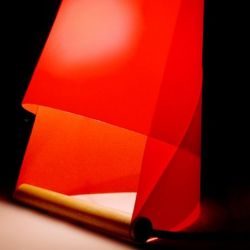 Furoshiki Table Lamp Red