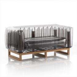 Canape Yomi Wood | Schwarz