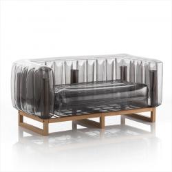 Canape Yoko Wood | Schwarz