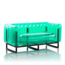 Canape Yomi Aluminium | Grün