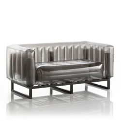 Canape Yomi Aluminium | Schwarz