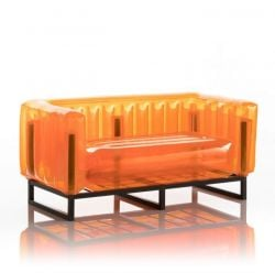 Canape Yomi Aluminium | Orange