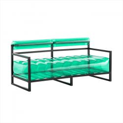 Canape Yoko Aluminium | Grün