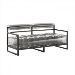 Canape Yoko Aluminium | Schwarz