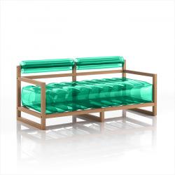 Canape Yoko Wood | Grün