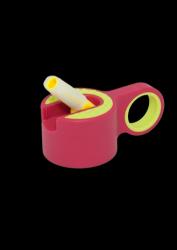 Trinkflaschenverschluss + Strohhalm | Rosa