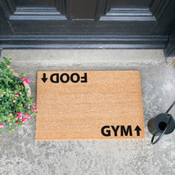 Doormat | Food & Gym