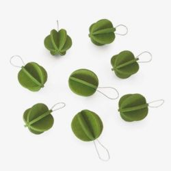Lovi baubles | Mini | Set of 8 | Available in 3 colors