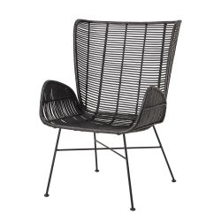 Lounge Chair Erika | Black