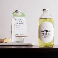 Unser/Berliner Wodka-Aufguss-Set Grüner Tee