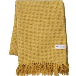 Towel Waffly 100 x 170 cm | Ochre