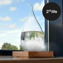 2nd Life | Storm Glass Drop Weather Forecaster