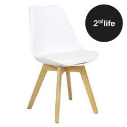 2tes Leben | Stuhl Zurich | Weiß