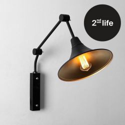 2nd Life | Wall Lamp Miller | Black