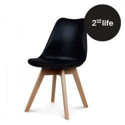 2tes Leben | Stuhl Scandi | Schwarz