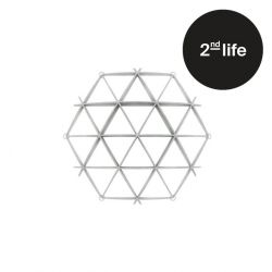 2nd Life | Comb Bookshelf | White - Mini